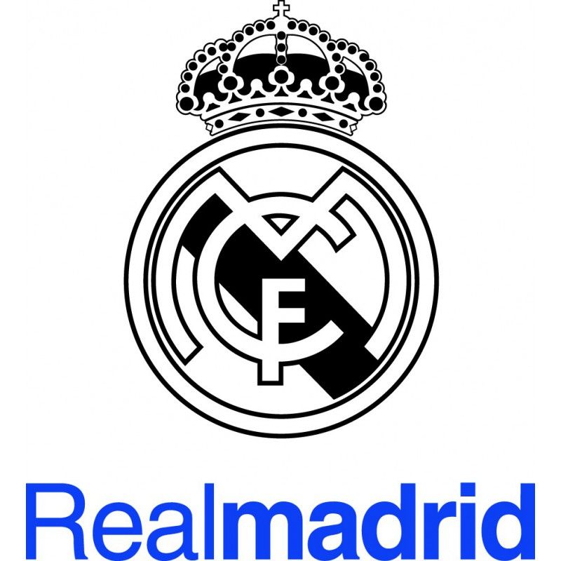 19+ Escudo Real Madrid Negro Png PNG